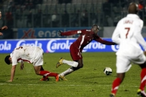 Metz - Sedan, 21e journée de Ligue 2  : Kalidou Koulibaly au duel