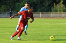 Les photos du match face au Racing Luxembourg !